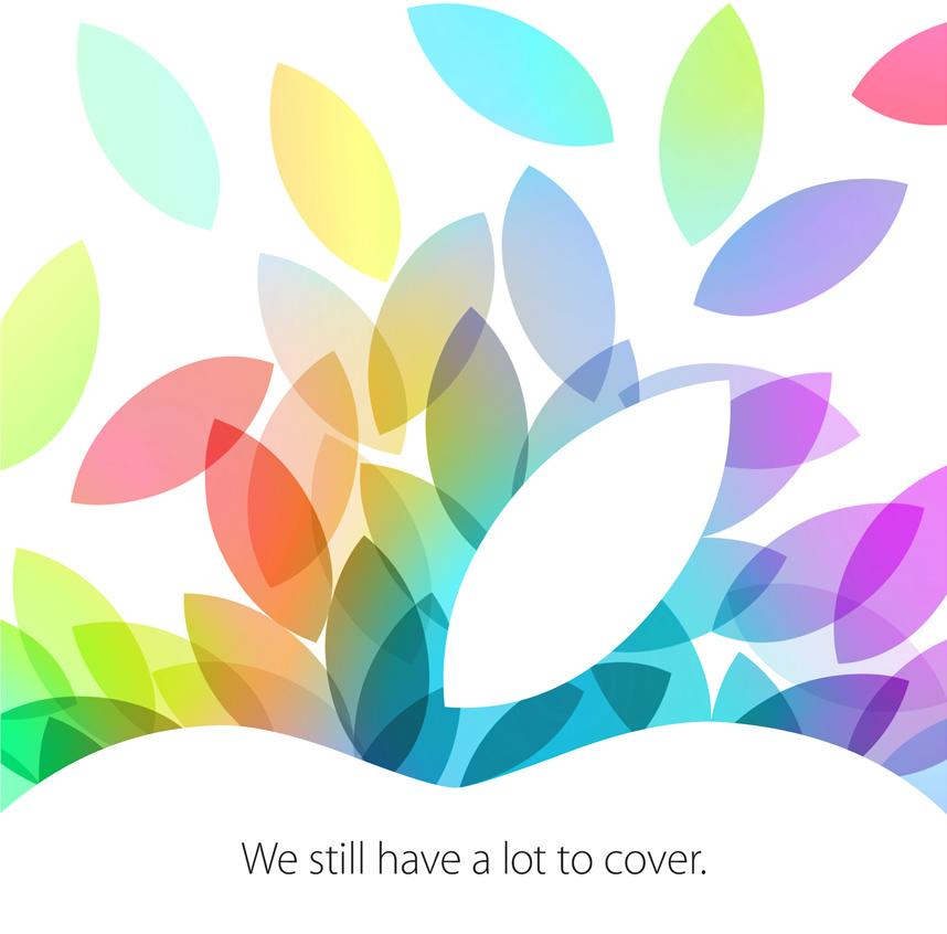 Convite da Apple - evento no dia 22