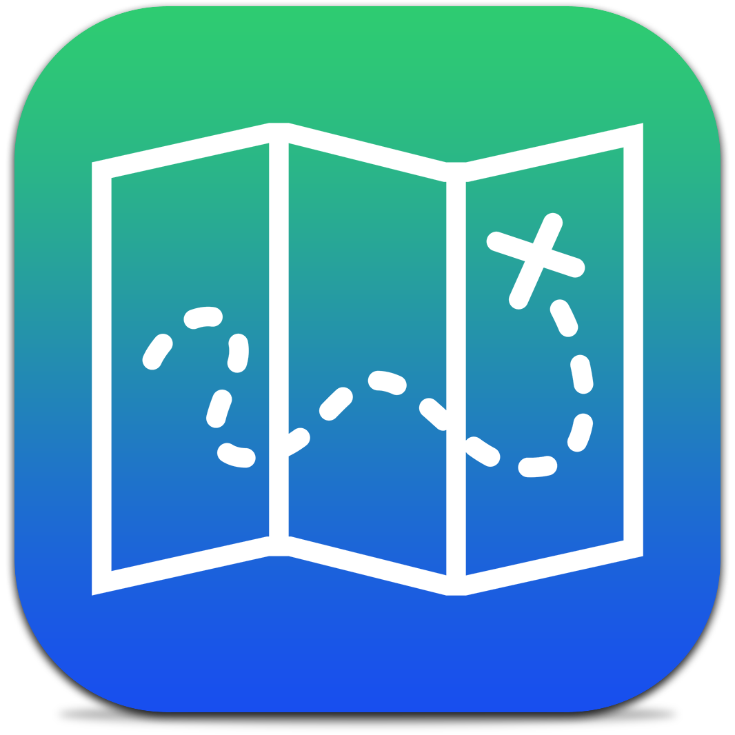 Ícone do app Everyday Places para iPhones/iPods touch