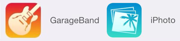 Ícones da iLife para iOS 7