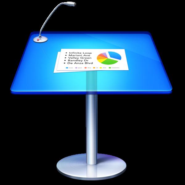 Ícone do app Keynote para OS X