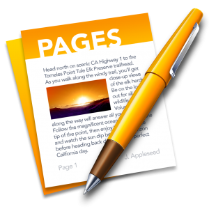 Ícone do app Pages para OS X
