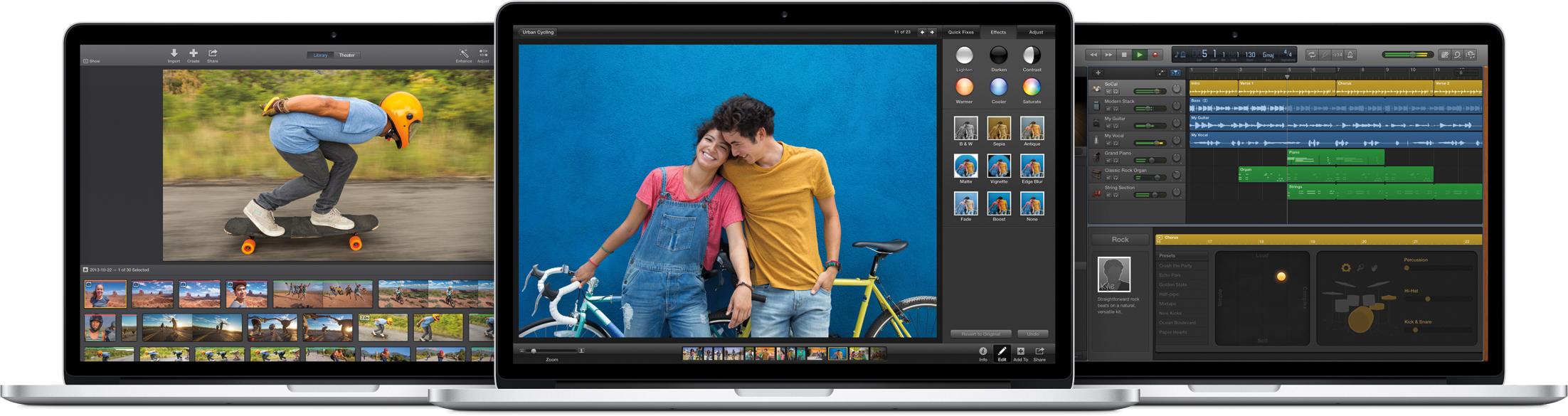Nova suíte iLife para Mac