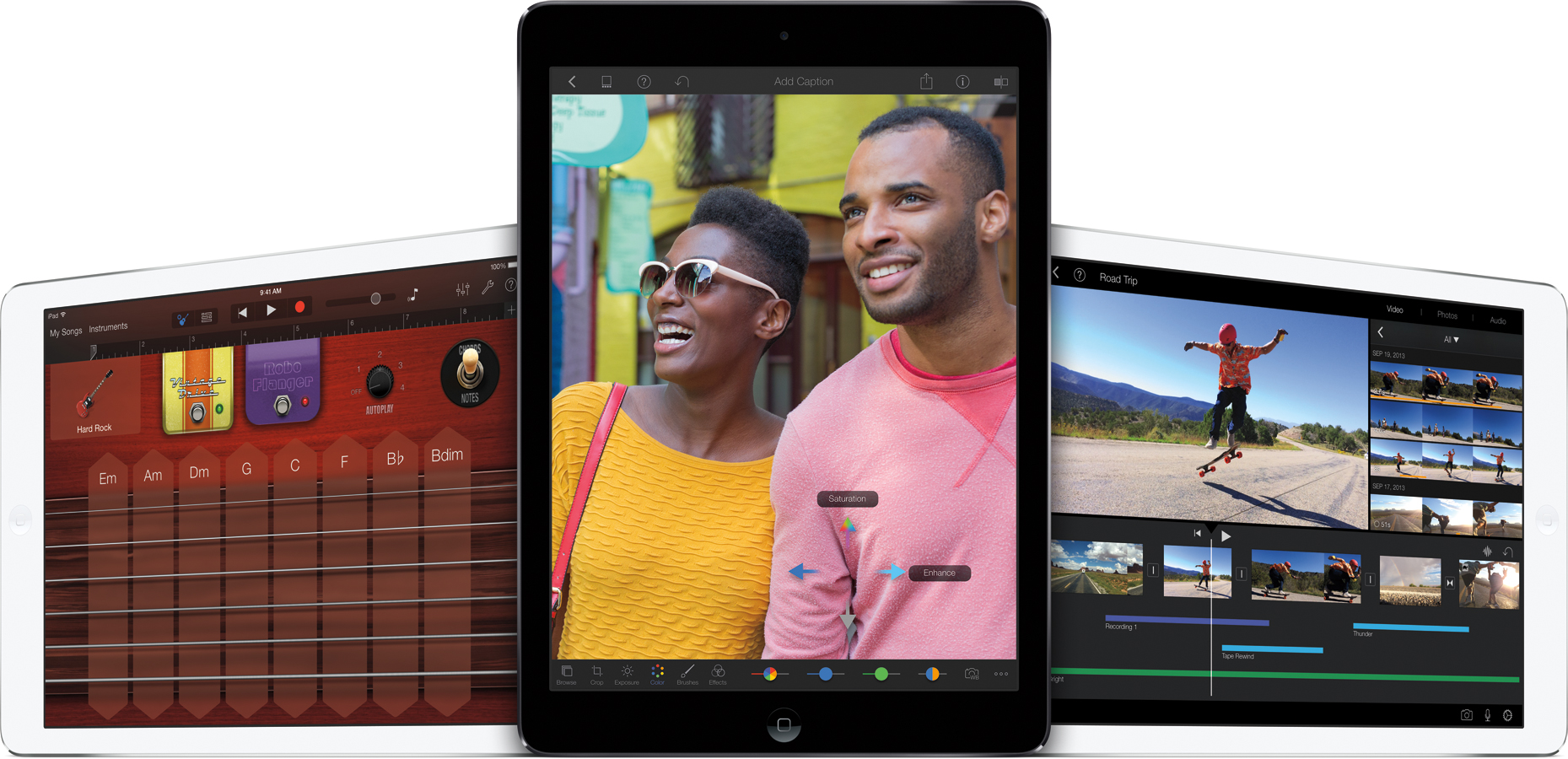 Nova suíte iLife para iOS