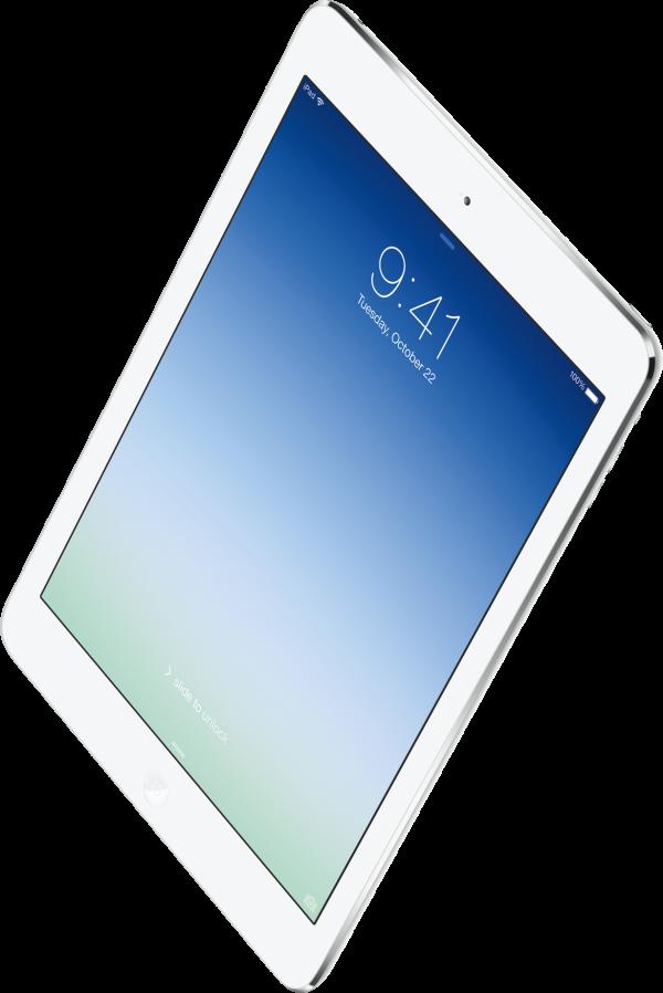 iPad Air voando