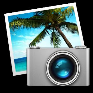 Ícone - iPhoto para Mac