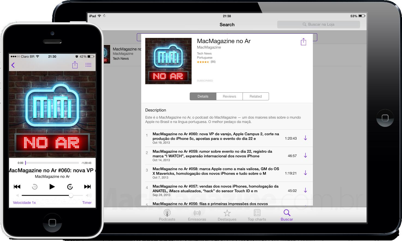 Podcast MacMagazine no Ar