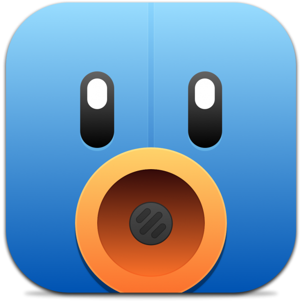 Ícone do app Tweetbot para iPhones/iPods touch