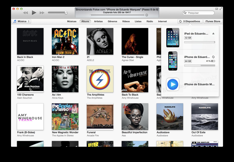 Novo ícone do Remote no iTunes