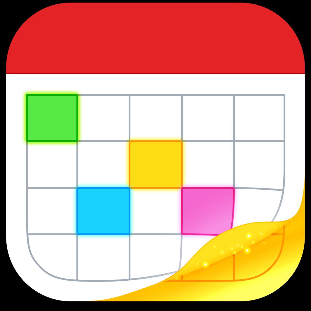 Ícone do app Fantastical 2 para iPhones/iPods touch