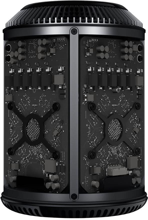 Mac Pro aberto