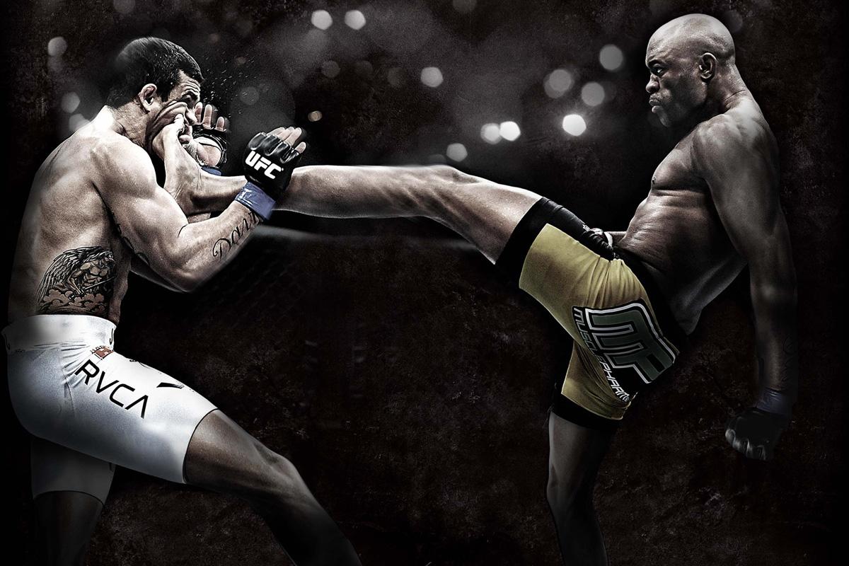 UFC (chute do Anderson Silva em Victor Belfort)
