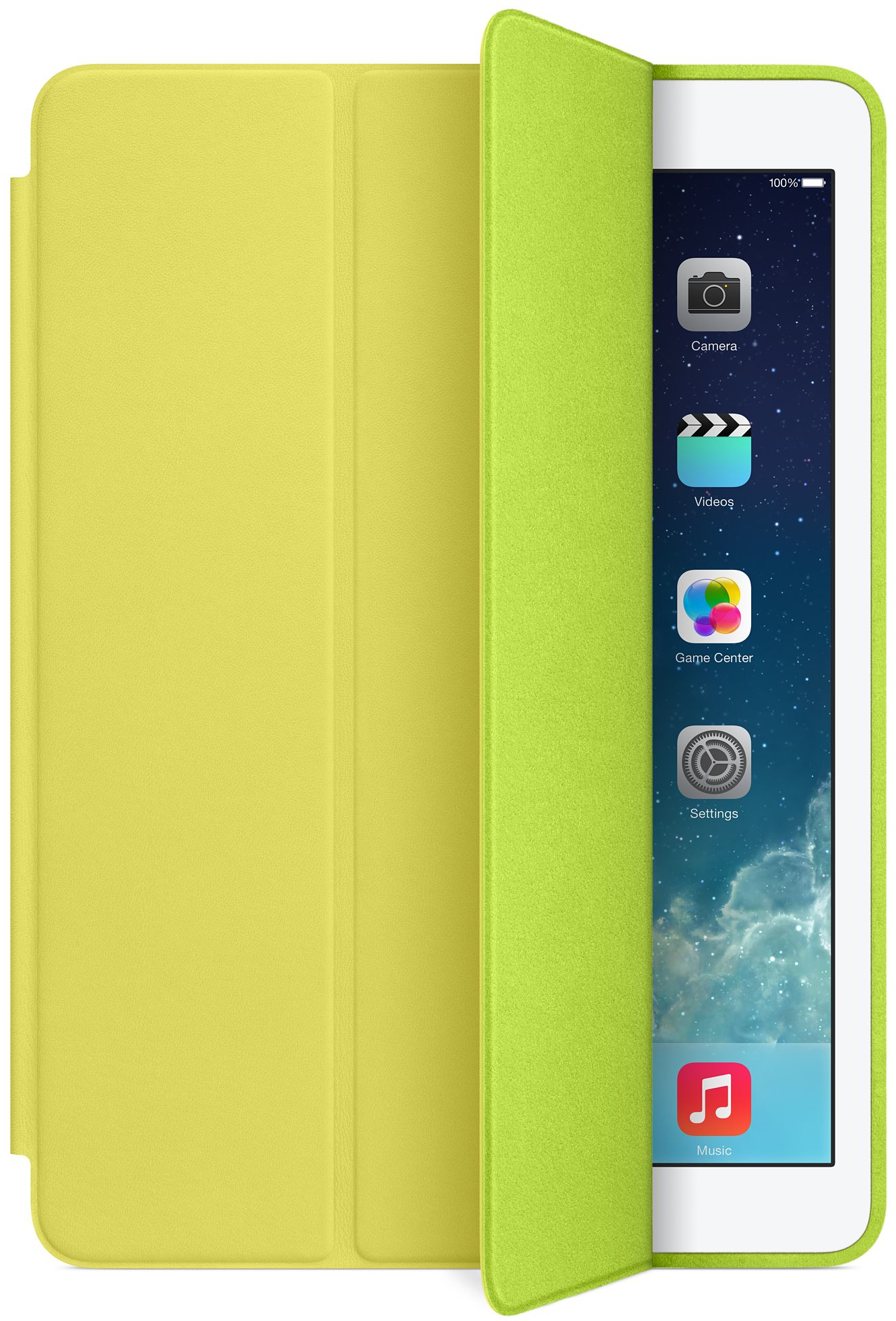 Smart Case amarela para iPad Air