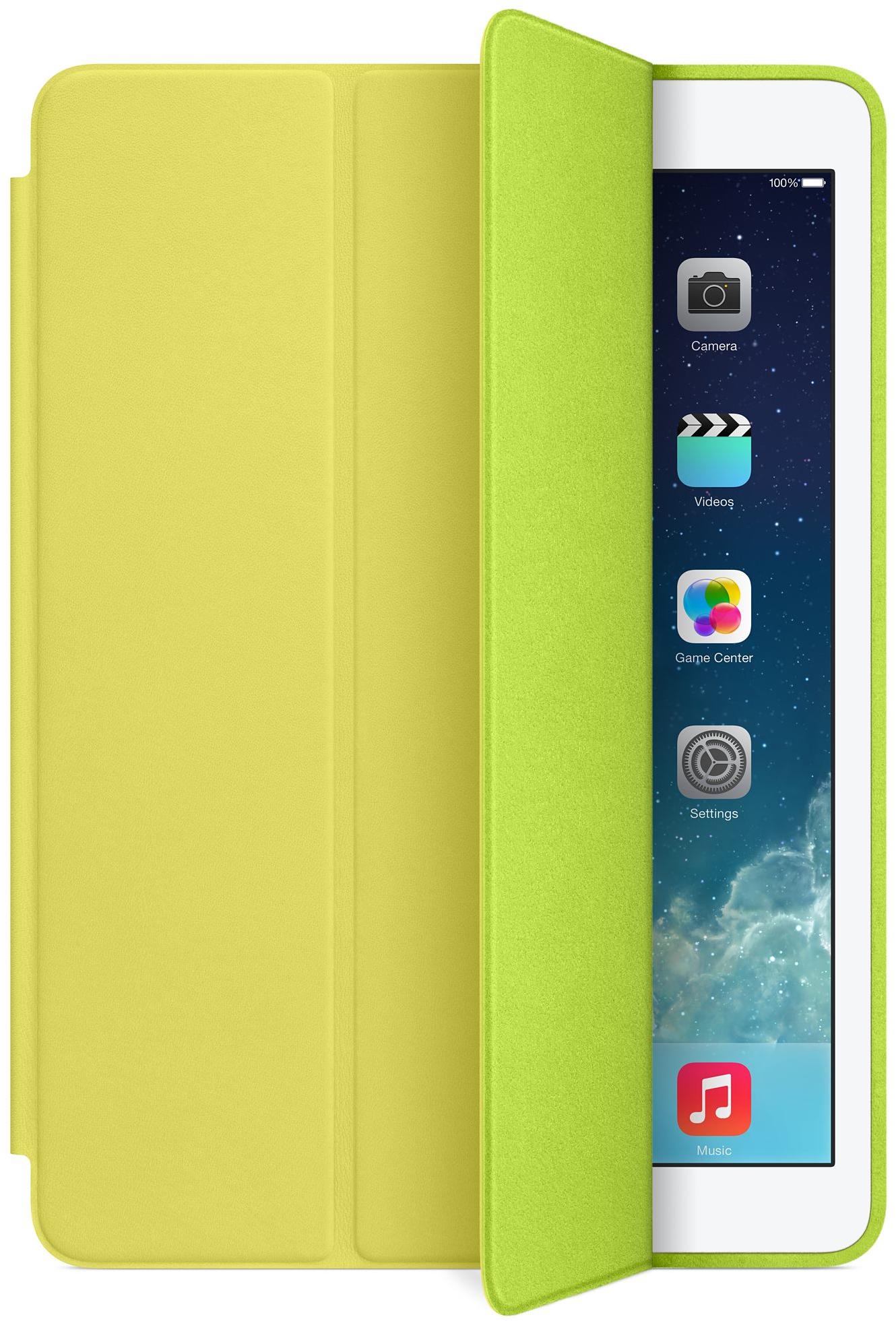 Smart Case amarela para iPad Air