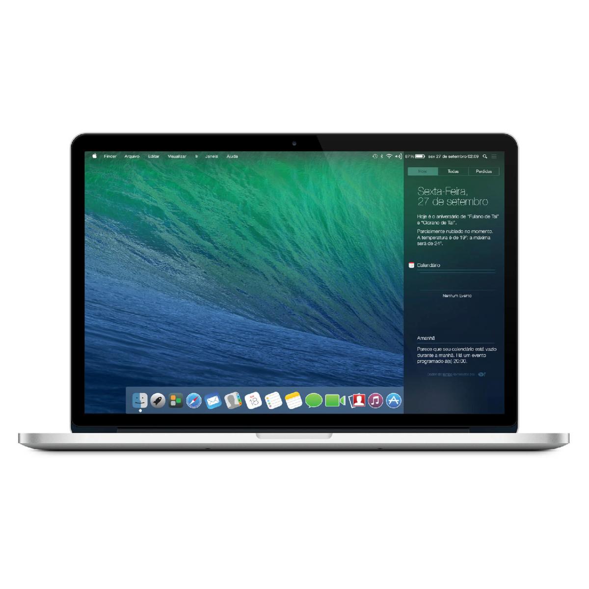 Conceito para um futuro OS X com visual ao estilo iOS 7