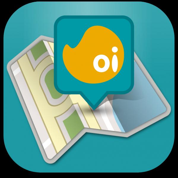 Ícone do app Oi Mapas para iPhones/iPods touch