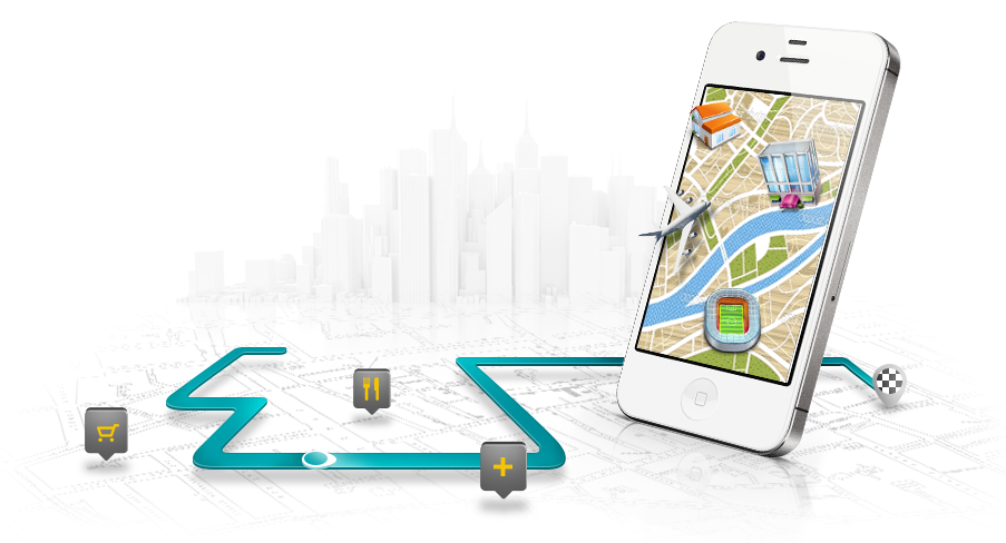 App Oi Mapas para iPhones/iPods touch