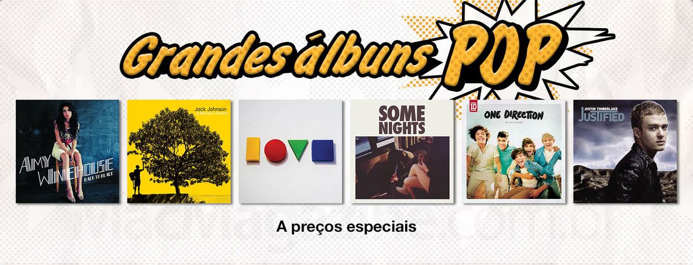 Grandes álbuns pop na iTunes
