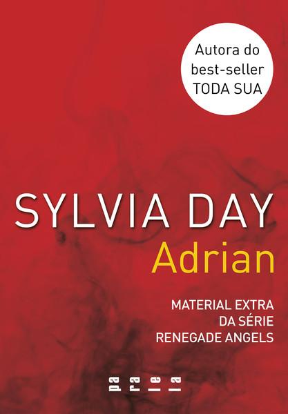 """Capa do livro """"Adrian"""""""
