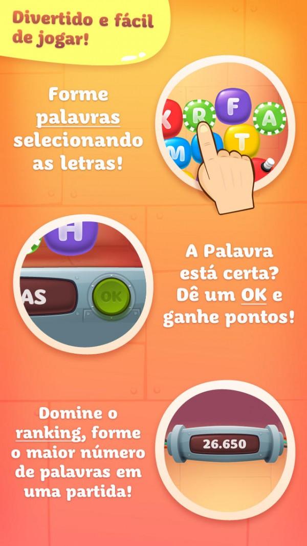 Screenshot do jogo Tap The Word