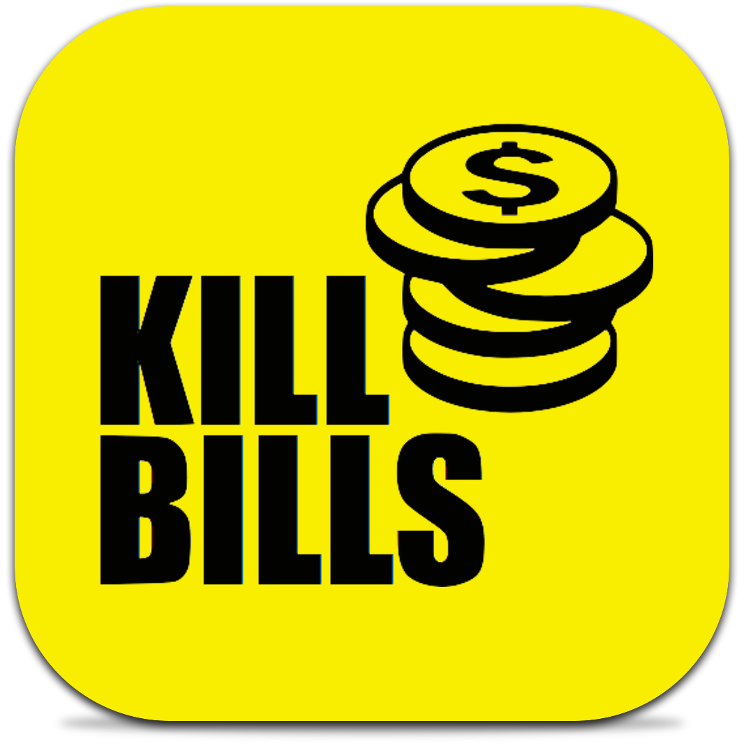 Ícone do app Kill Bills para iPhones/iPods touch