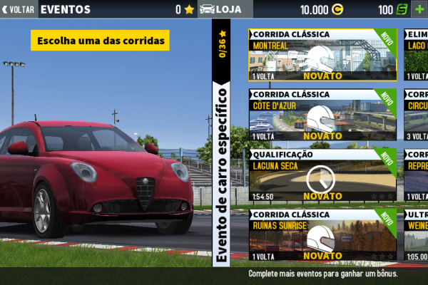 Screenshot de GT Racing 2