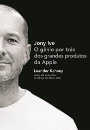"""Capa do livro """"Jony Ive"""""""