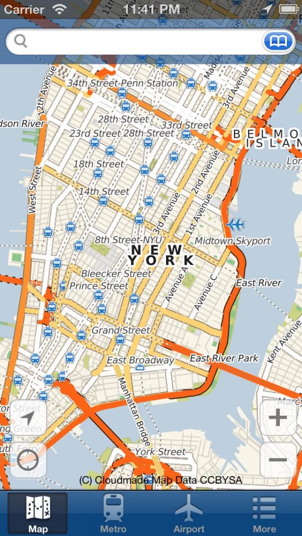 Nova Iorque Mapa Offline