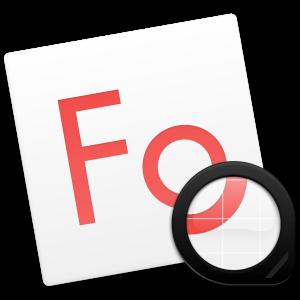 Ícone do app Fonts para OS X
