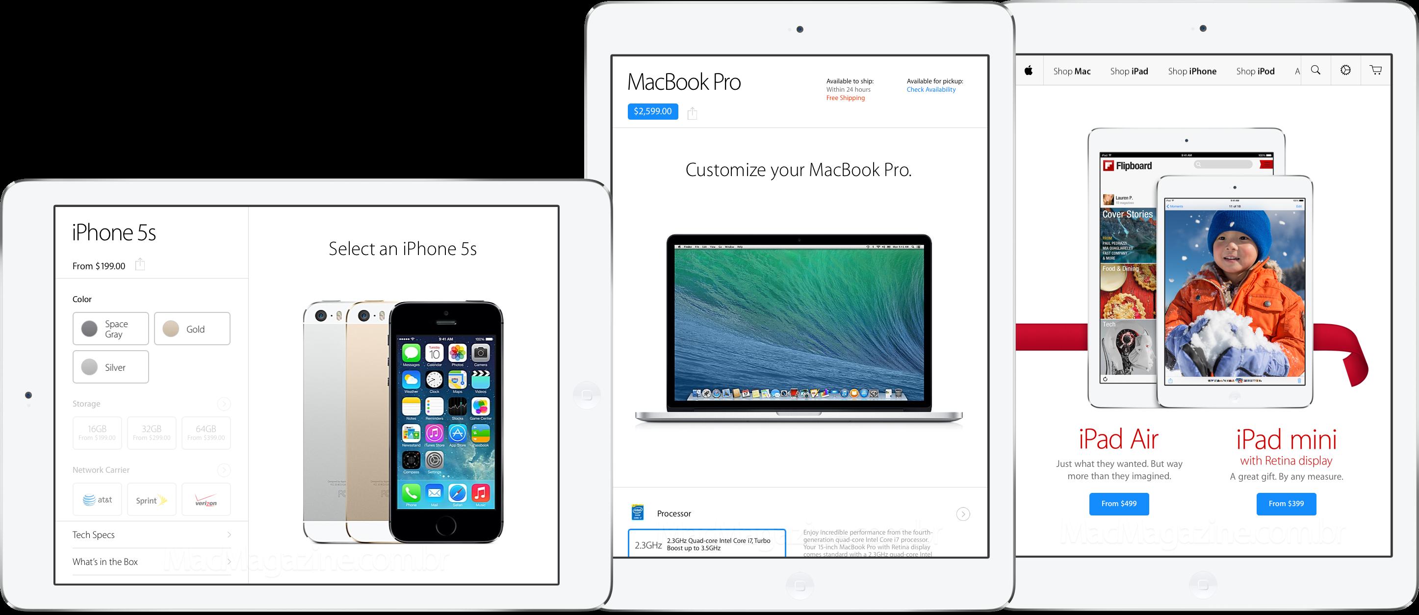 App Apple Store para iPads