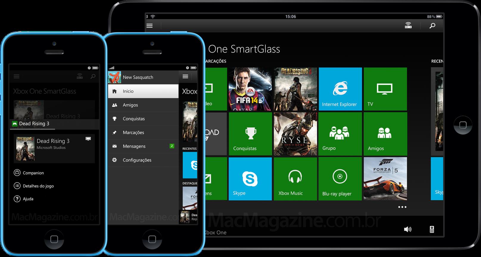 App Xbox One SmartGlass para iOS