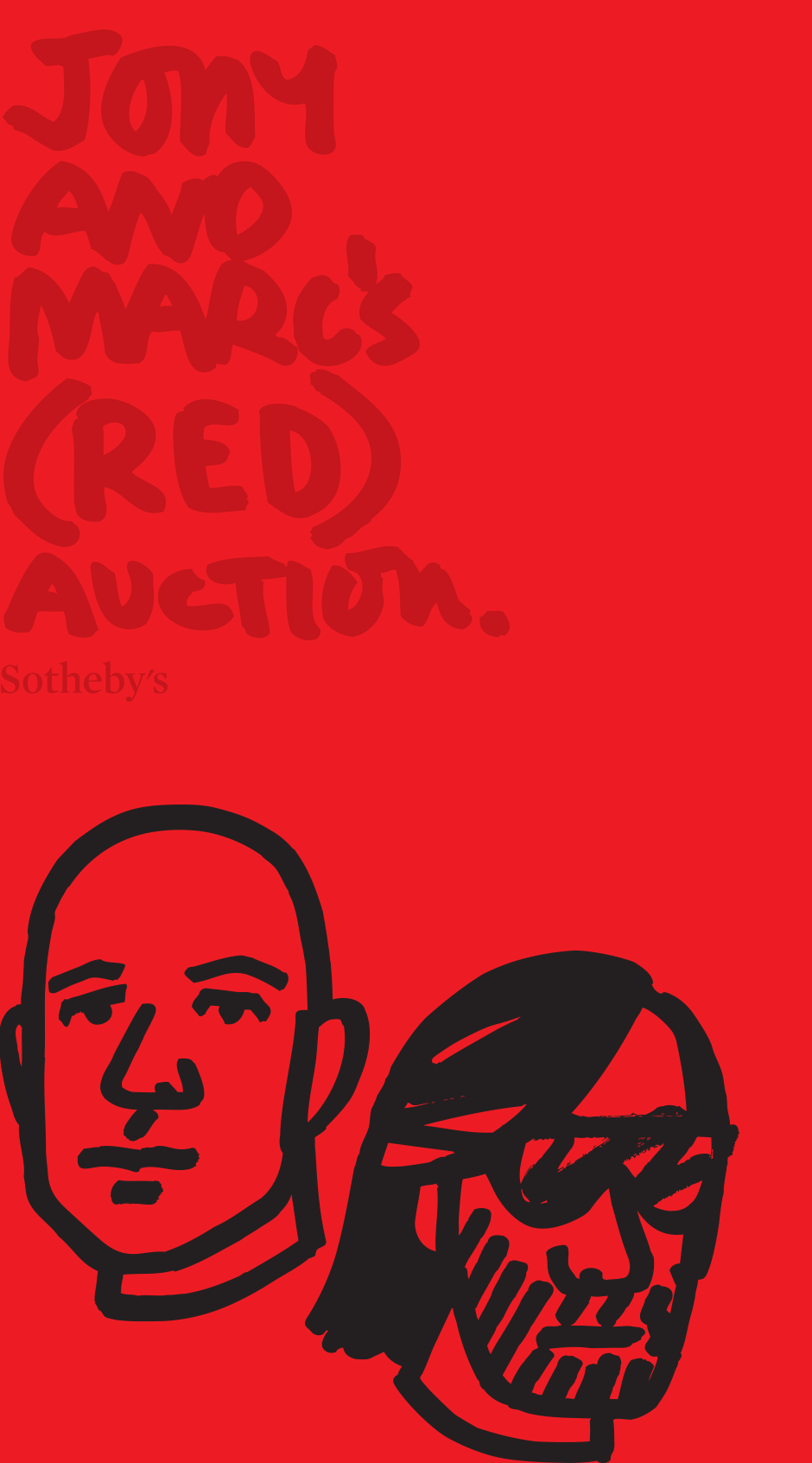Jony and Marc's (RED) Auction