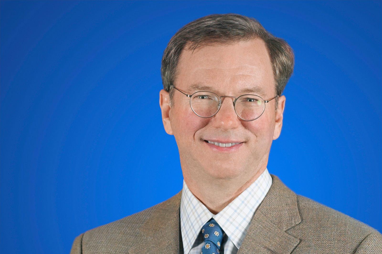 Eric Schmidt, presidente executivo do Google