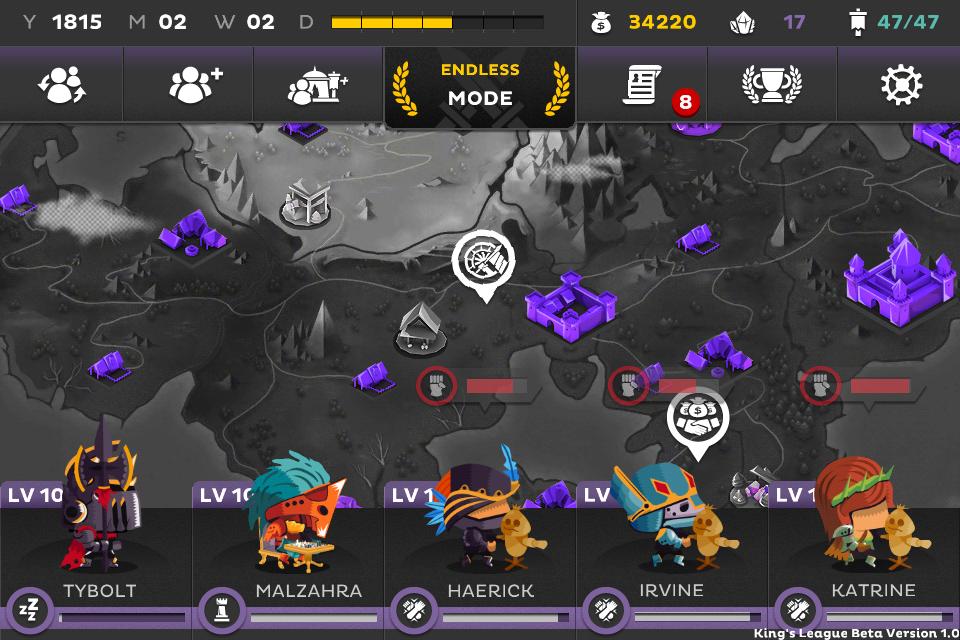 Screenshot de King's League: Odyssey