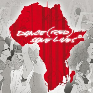 "Capa do álbum ""Dance (RED) Save Lives, Vol. 2"""
