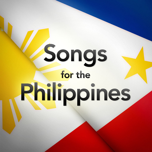 "Capa do álbum ""Songs for the Philippines"""