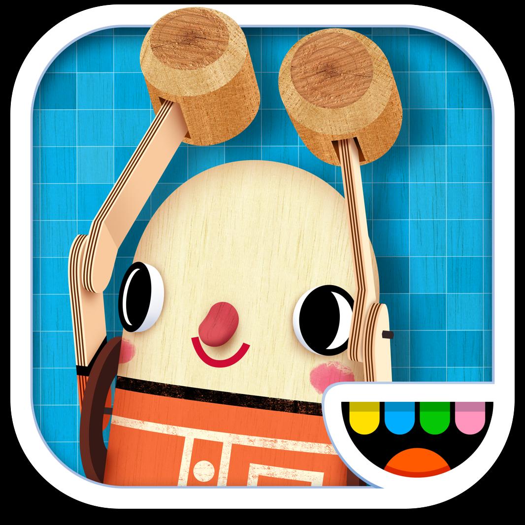 Ícone do app Toca Builders para iOS