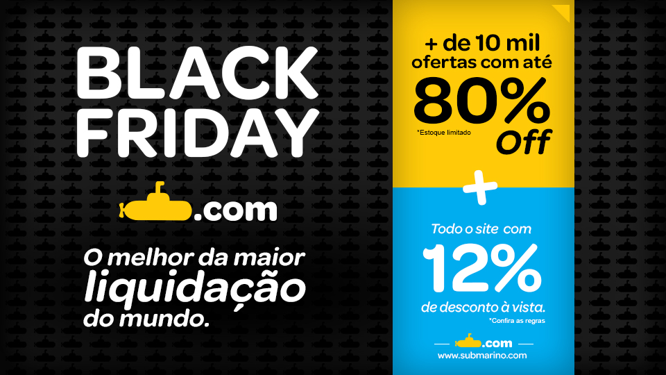 """Black Friday"" do Submarino"