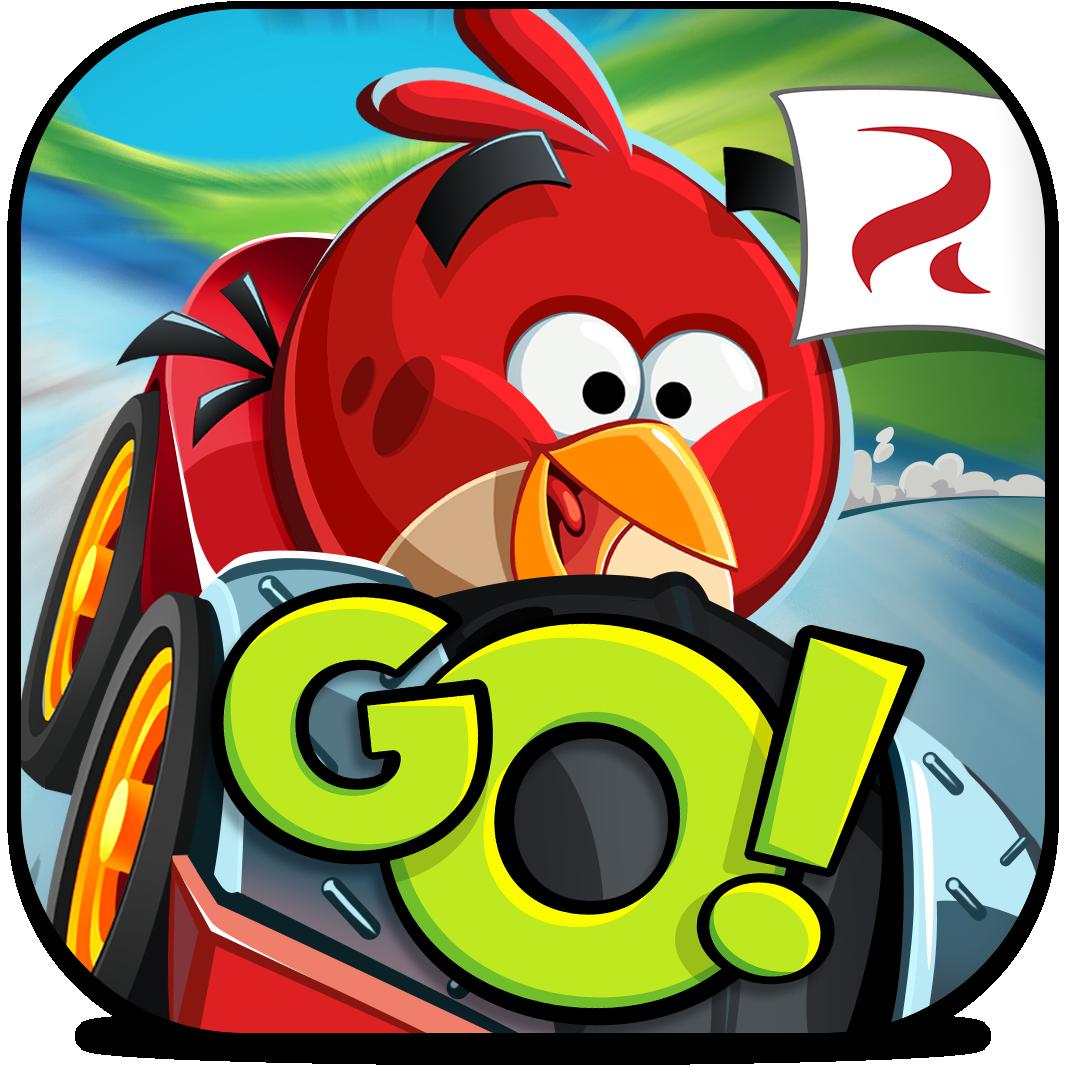 Ícone do jogo Angry Birds Go! para iOS