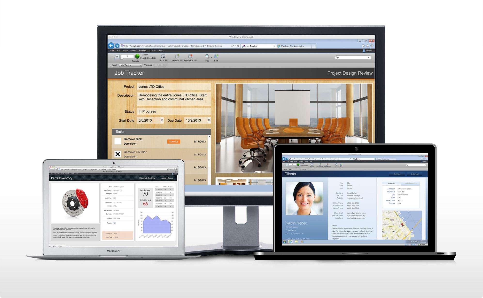 FileMaker 13 WebDirect