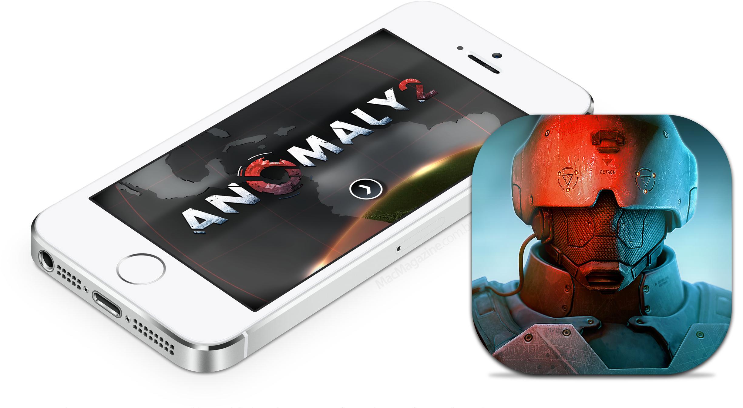 Anomaly 2 para iOS - ícone e iPhone
