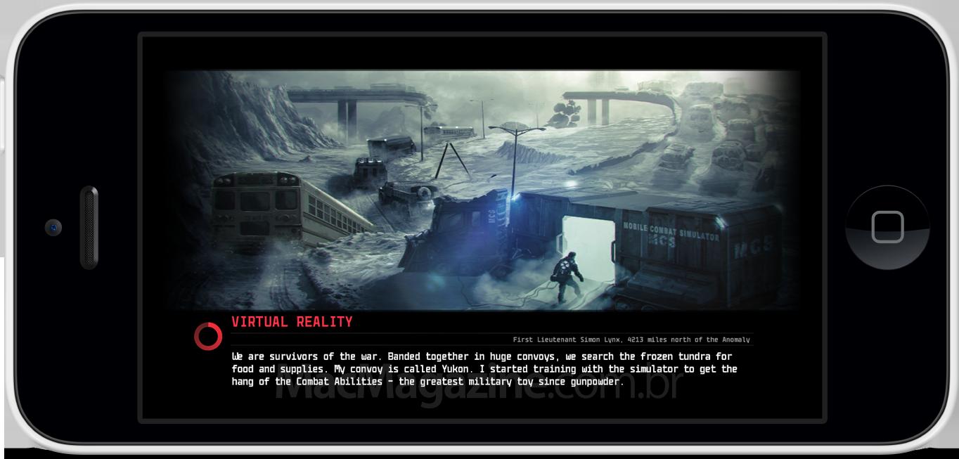 Anomaly 2 para iOS - Captura de tela
