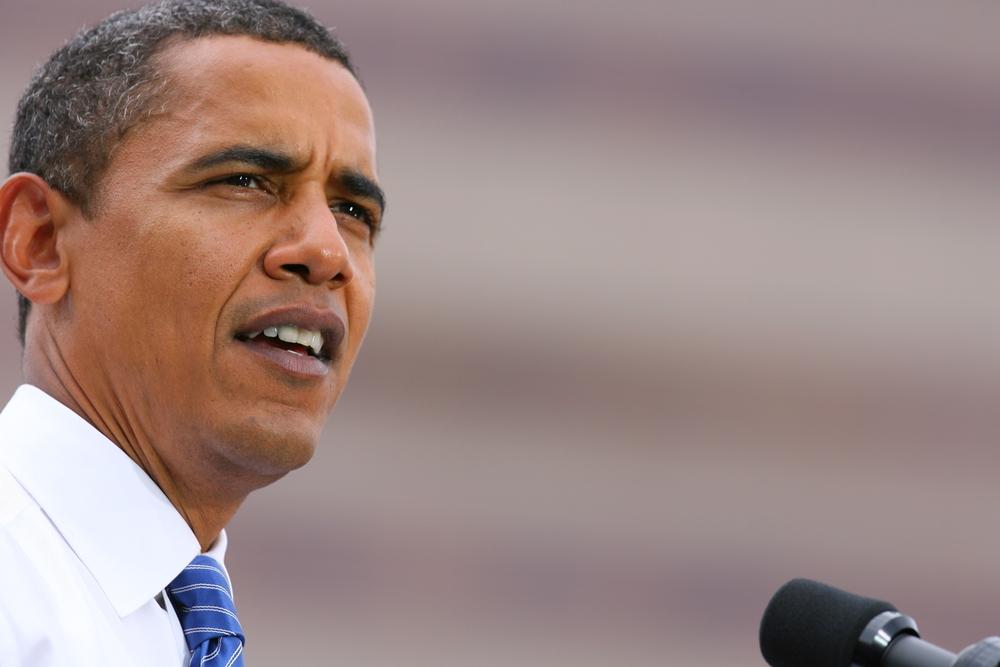 Barack Obama discursando