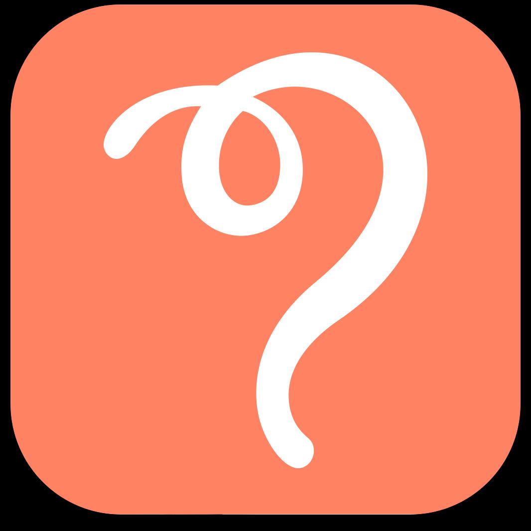 """Ícone do app """"e agora?"""" para iPhones/iPods touch"""