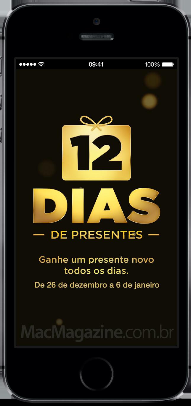 12 dias de presentes - iPhone