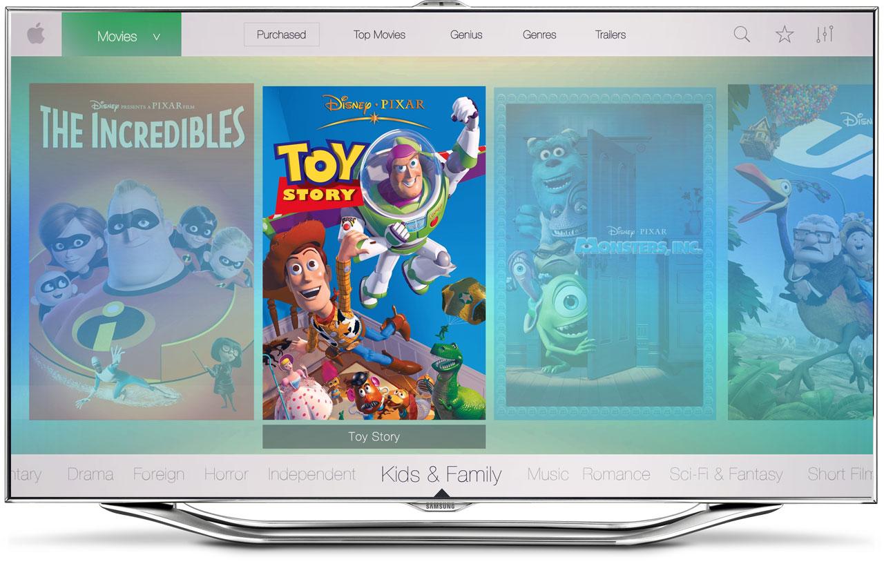 Conceito de novo Apple TV Software