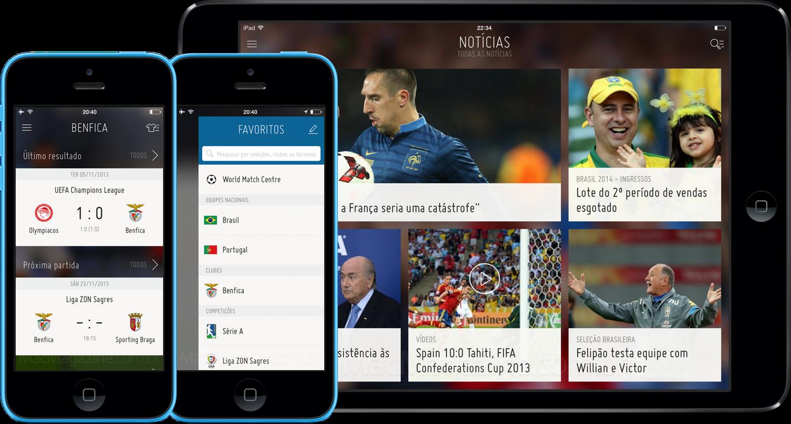 App FIFA para iOS