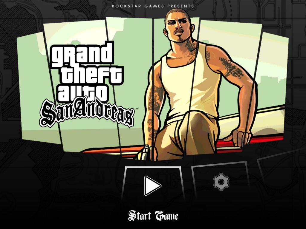 Jogo Grand Theft Auto: San Andreas para iOS