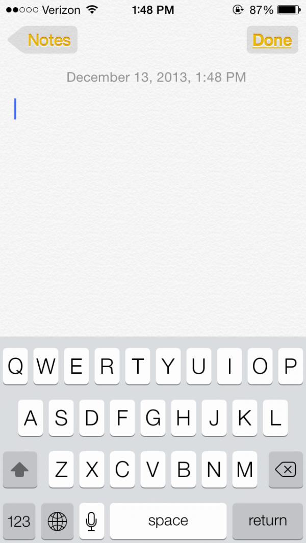 Formas de botão no iOS 7.1 beta 2