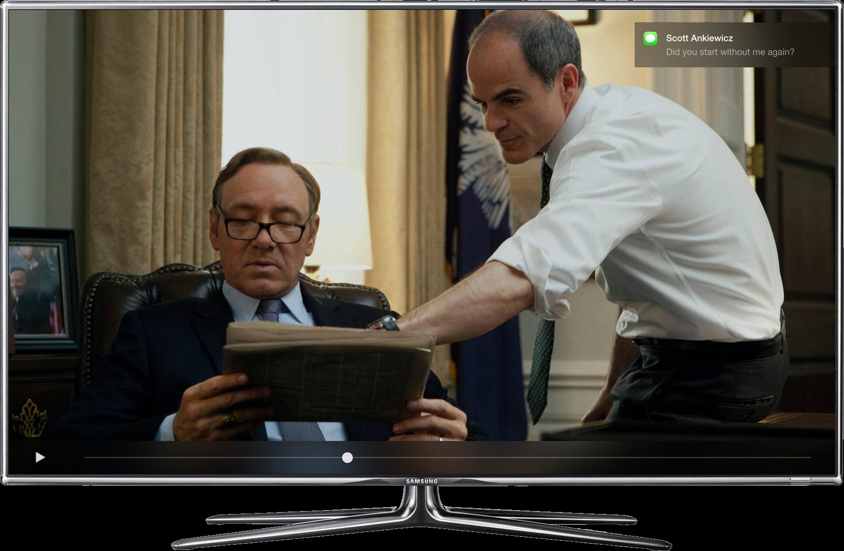 Conceito para o Apple TV Software