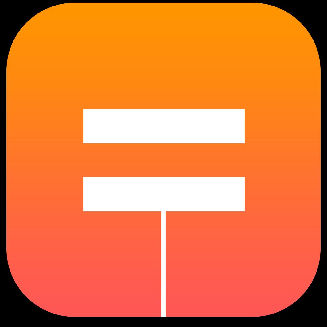 Ícone do app Tydlig para iOS